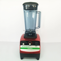 Timer and speed commercial ice blender