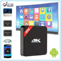 Ready made Amlogic S905 CPU 1GB DDR3 RAM digital tv box H96 android tv box atv