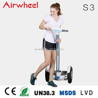 China new model Airwheel S3 two wheel electric golf cart