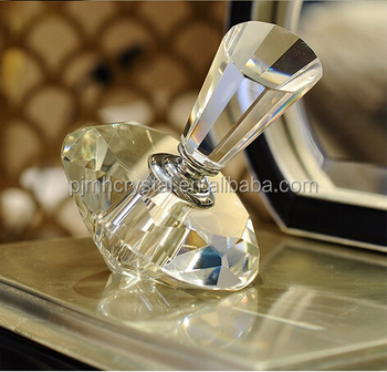 MH-XSP102 Creative clear crystal perfume bottle ornaments