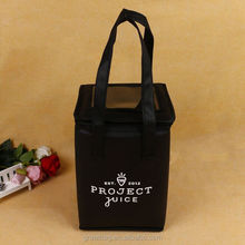 Promotional small wine non woven insulated cooler bag