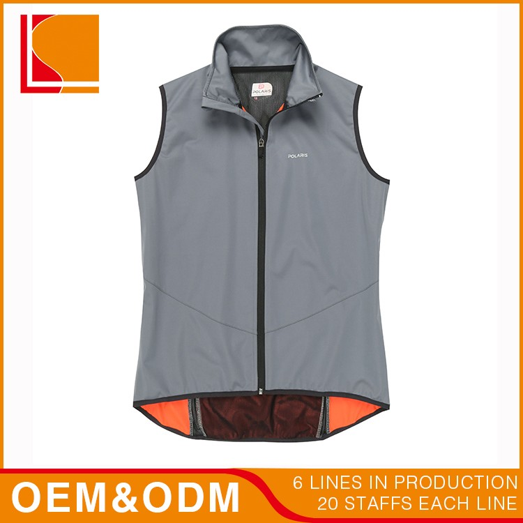 Thermal Polyester Fish Slim Fit Man Vest Design
