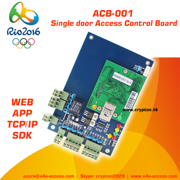 card+password unlocking Showroom Control board