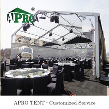 Clear Roof wedding tent