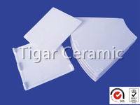 High performance plain ceramic plates with good heat resistance and effective cost