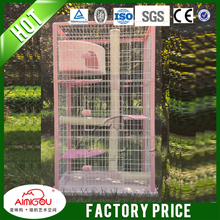 16 years factory Portable Metal Folding Puppy Cage Dog Crate New Pet Kennel Cat Carrier Tray