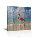 Pink Flamingo Canvas Wall Art Animal Poster Pictures for Living Room 1 Piece HD Printed Canvas Painting/AL1102