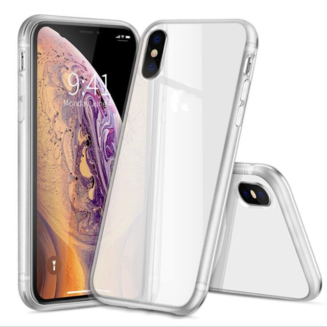 clear TPU cell phone cover phone case For Iphone 8