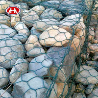 professional manufacturer high quality hexagonal hot dipped galvanized metal stone gabion garden iron wire mesh 1x1x1 basket box