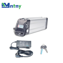 CNNTNY 36V 12Ah Deep Cycle Battery Pack Li-ion 500Wh 18650 Rechargeable Battery Lifepo4 for E-Bike