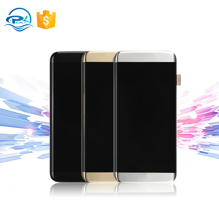 New original phone premium front glass+lcd display+touch screen digitizer for samsung galaxy s7 edge