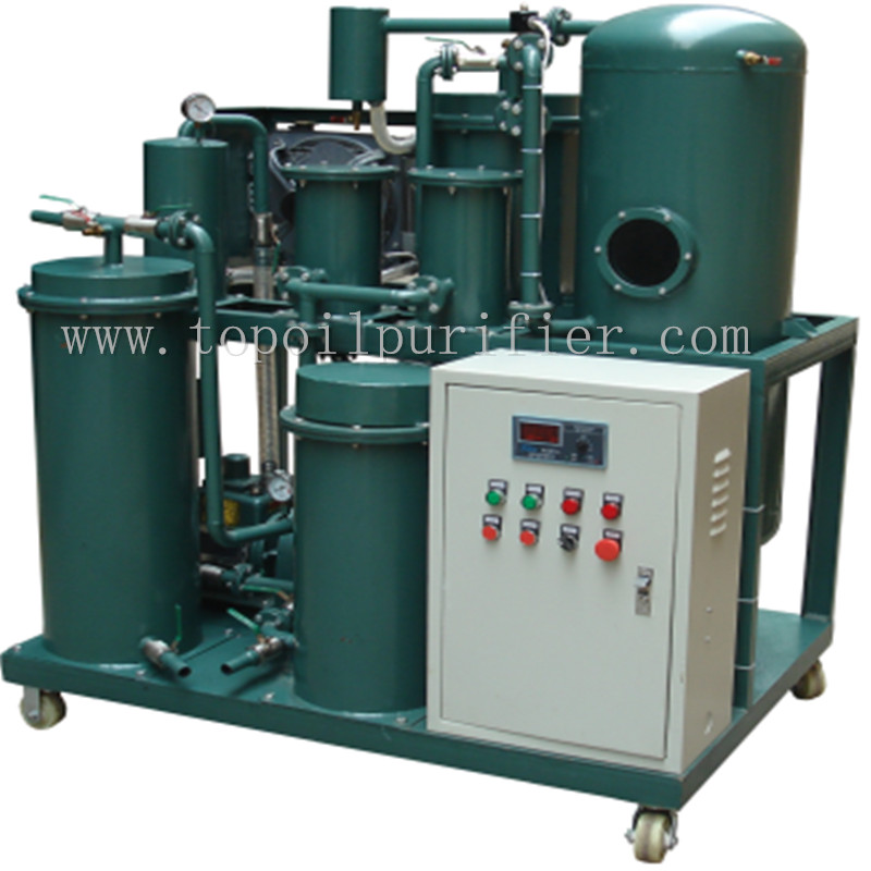 Waste Refrigeration Oil Filration Machine, Black Engine Oil Refinery Plant