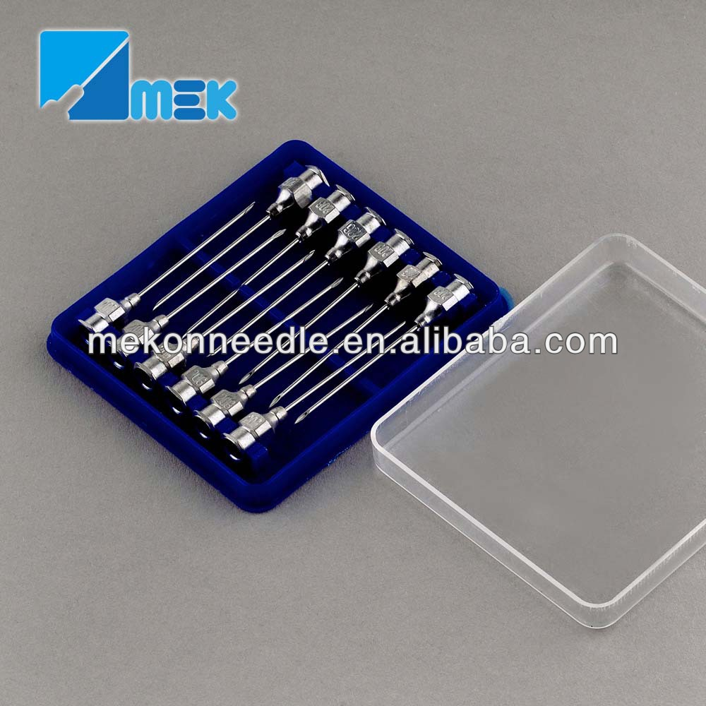veterinary metal needle