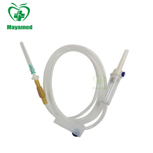 MY-L051 good price medical disposable iv infusion set with needle