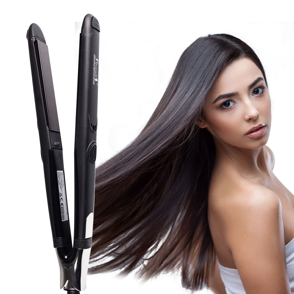 Ceramic Technology Plate Hair Straightener And Curling Iron
