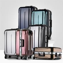 Hot selling cool abs luggage suitcase luggage set with duffel tsa lock abs hard suitcase with low price
