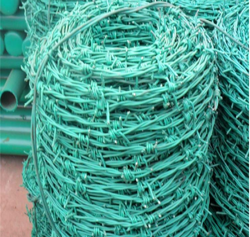 galvanized barbed wire with good quality for protecting