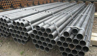 Black varnished, oiled finish Surface Treatment and Non-alloy welded steel pipe