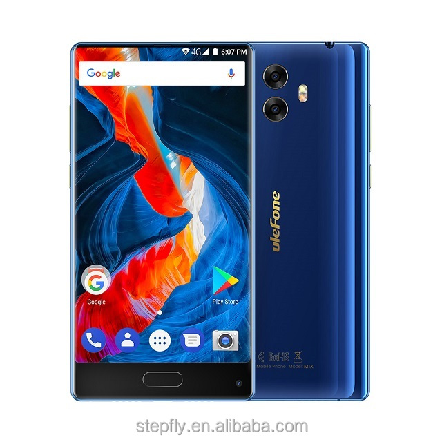Ulefone Mix 4G Mobile Phone 5.5 inch MTK6750T Octa Core Android 7.0 4GB RAM 64GB ROM Fingerprint 13MP Dual Camera Smartphone