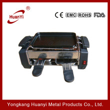 easy cleaning and smokeless electric barbecue grill for family