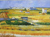 Decorative Van Gogh autumn landscape painting
