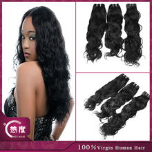 Thick !!! factory price weft top quality 5a grade free sample natural wavy brazilian hair human