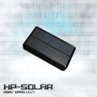 Solar powered GPRS/ GSM GPS tracker