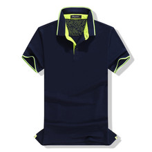 Soft-touch Mens Dry Fit Golf Polo Shirts Wholesale With Customized Logo 2017