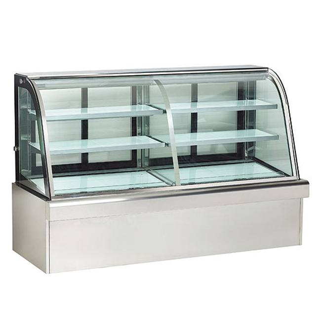 For Restaurant Kitchen Equipment R134a mini cake display refrigerator