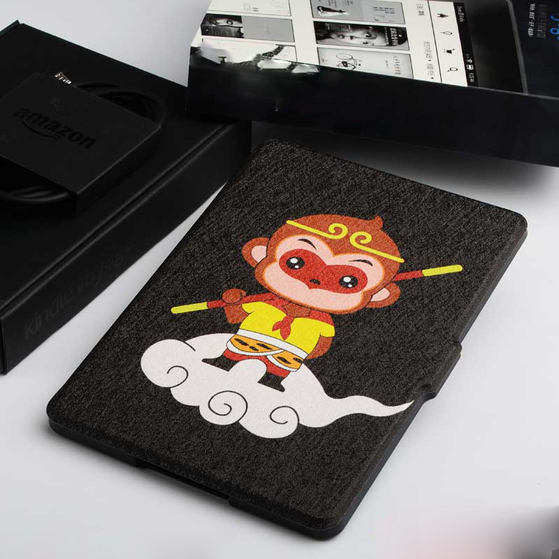 Auto Sleep/Wake Function Smart Tablet Flip Fashion Design Cover For Amazon Kindle 5 Leather Case For Kindle