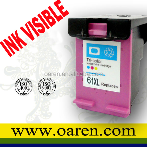 Reset chips for HP 61 XL Printing ink cartridge for HP61XL CH564WN for hp 1510 PRINTER reset chip for hp1010 deskjet