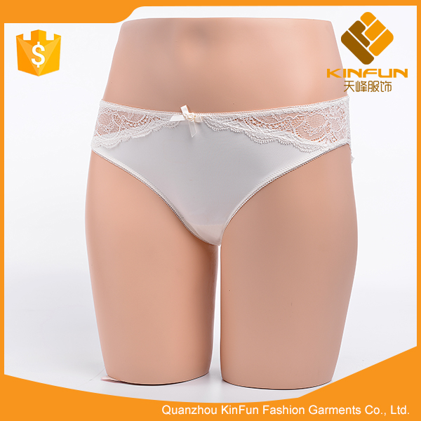 European size white lace quick dry breathable women knickers