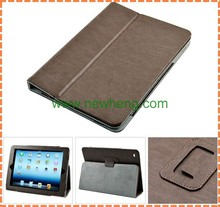 Tablet case cover super slim card slots wallet leather case for ipad air 2 ,for ipad case with card pocket