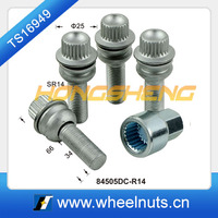 Export products 4+1 car wheel cam lock bolt innovative products for sale