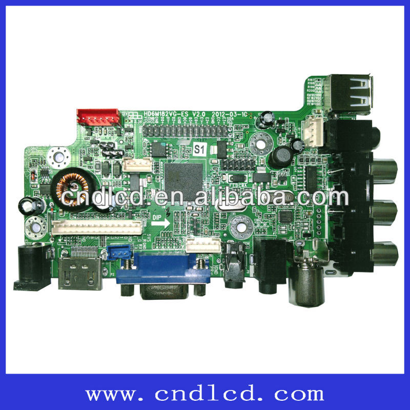 15.6-23.6 Inch LCD TV Board Support Polarization/shutter 3D Screen
