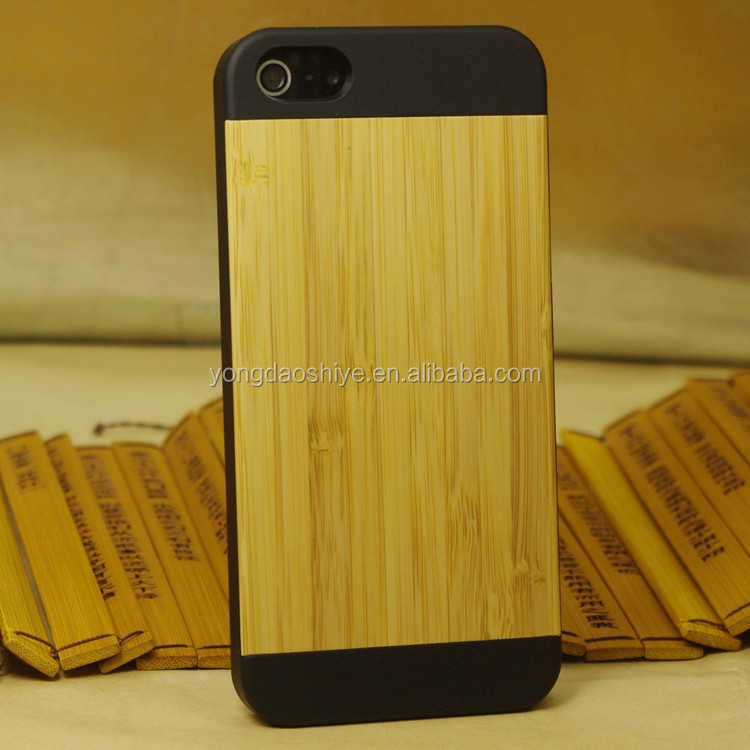 High quality phone back housing wood cover case for iphone 5 5s