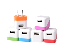 Shenzhen Phone accessories mobile charger usb wall charger 1a