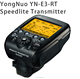 2015 NEW YN-E3-RT Yongnuo Flash Speedlite Transmitter Compatible with 600EX-RT for Canon DSLR Camera