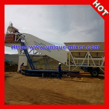 75cbm high efficiency portable wet mix macadam plant mixing plant for sale