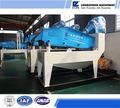 Fine sand drying and recycling machine, sand recycle machine
