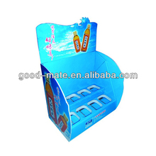 Cardboard Shop Counter Design Pos Material Display