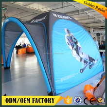 outdoor advertising instant inflatable tent