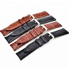 12mm-24mm wholesale Cheap price split hide leather watch band strap