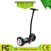 China electric chariot scooter price / cost Mobility scooter / self balancing Rooder 2 wheel electric scooter with Handle