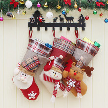 Cheap Decoration Item Christmas Stocking Decorative Socks