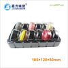 12 pack Clear plastic blister Macaron Packaging box