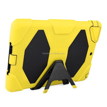 explosion proof and shockproof combo case for ipad Air with holder flip cover