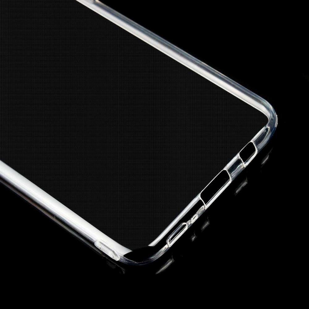 Cell Phone Accessory Transparent Back Shell Cover for Samsung Galaxy S8 S8 Plus TPU Case Silicone Capa Coque Funda