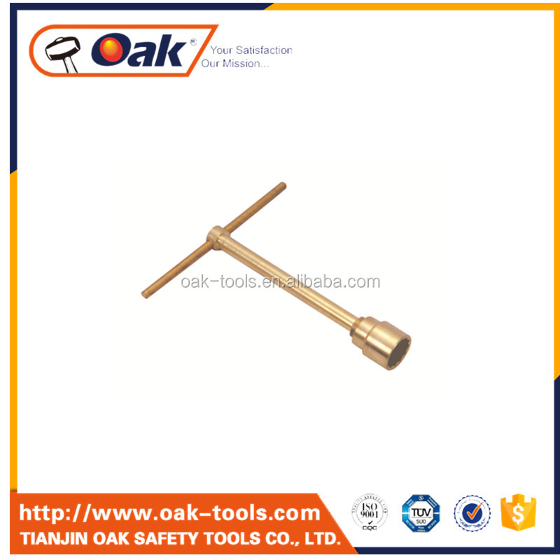 quality tee socket wrench with slide handle can customized