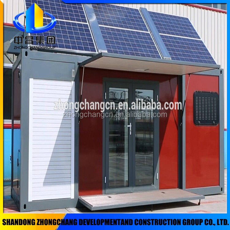 Removable Camping solar steel structure house